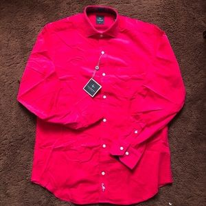 TailorByrd Corduroy Button Up